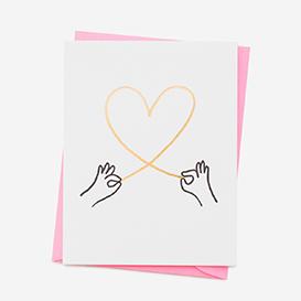 Heart String Greeting Card>     </noscript> </div>          <div class=
