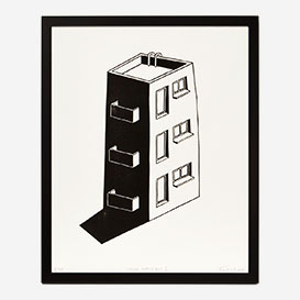 House Impossible Linocut Print>     </noscript> </div>          <div class=