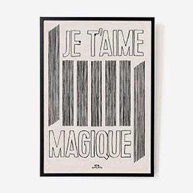 Je t'aime Magique Print - A2>     </noscript> </div>          <div class=