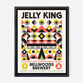 Jelly King Screenprint Poster>     </noscript> </div>          <div class=