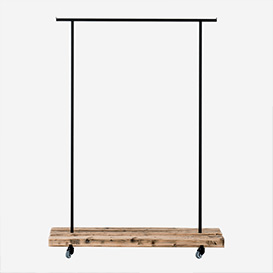 Clothes Rack Reclaimed Wood - M>     </noscript> </div>          <div class=