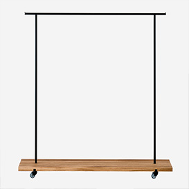 Clothes Rack Oak - L>     </noscript> </div>          <div class=