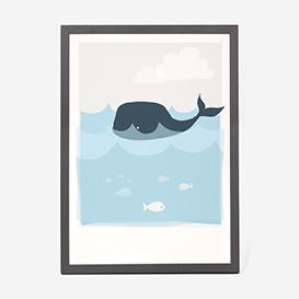 Art Print Whale>     </noscript> </div>          <div class=