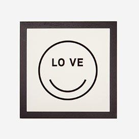LOVE Smiley Letterpress Print>     </noscript> </div>          <div class=
