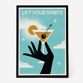 Lift Your Spirits Art Print - Kunstdruck>     </noscript> </div>          <div class=