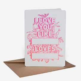 Like Blank Loves Blank Greeting Card>     </noscript> </div>          <div class=