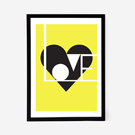 Love Artprint - Lemon>     </noscript> </div>          <div class=