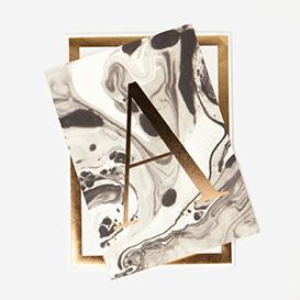 Marble Alphabet Grußkarte>     </noscript> </div>          <div class=