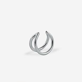 Moon Ear Cuff - Silber 925 weiss rhodiniert>     </noscript> </div>          <div class=