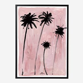 Palm Trees Art Print - A1>     </noscript> </div>          <div class=