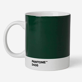 Pantone™ Dark Green 3435 Porcelain Mug>     </noscript> </div>          <div class=