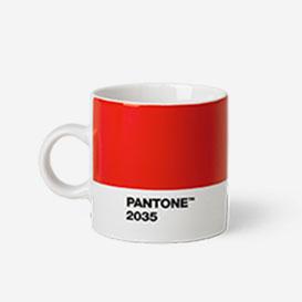 Pantone™ Red 2035 Espresso-Tasse aus Porzellan>     </noscript> </div>          <div class=
