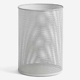 Perforated Tin Bin L Light Grey>     </noscript> </div>          <div class=
