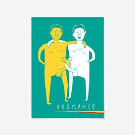 Postkarte Bromance>     </noscript> </div>          <div class=