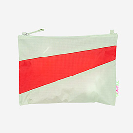 The New Pouch M Pistachio & Redlight>     </noscript> </div>          <div class=