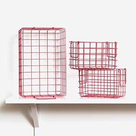 The Baskets Set of 3 Berry>     </noscript> </div>          <div class=