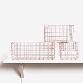 The Baskets Set of 3 Blush>     </noscript> </div>          <div class=