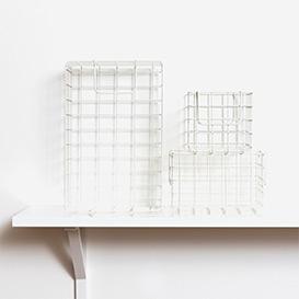The Baskets Set mit 3 Körben White>     </noscript> </div>          <div class=