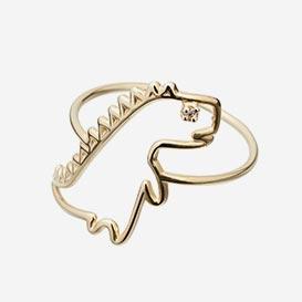 Ring Dino Brillante - Gold 9k>     </noscript> </div>          <div class=