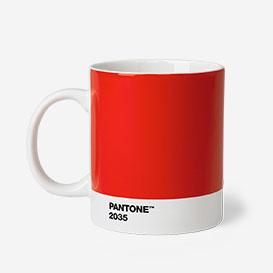 Pantone™ Red 2035 Porzellan-Tasse>     </noscript> </div>          <div class=