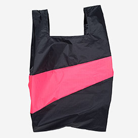 The New Shoppingbag L Black & Fluo pink>     </noscript> </div>          <div class=