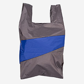 The New Shoppingbag L Warm Grey & Electric Blue>     </noscript> </div>          <div class=