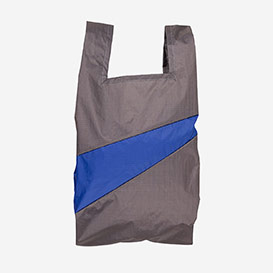 The New Shoppingbag M Warm Grey & Electric Blue>     </noscript> </div>          <div class=
