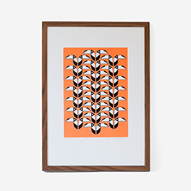 Toucans Coral Screen Print>     </noscript> </div>          <div class=