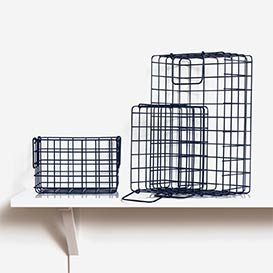 The Baskets Set mit 3 Körben Navy>     </noscript> </div>          <div class=