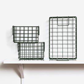 The Baskets Set mit 3 Körben Olive>     </noscript> </div>          <div class=