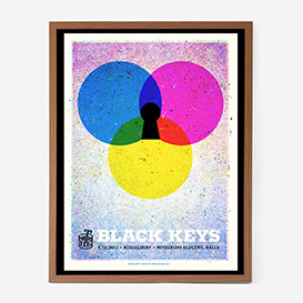 The Black Keys Screenprint Gigposter>     </noscript> </div>          <div class=