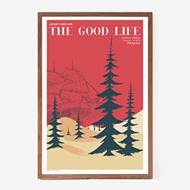 The Good Life Siebdruckposter>     </noscript> </div>          <div class=
