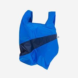 The New Shoppingbag M Blue & Navy>     </noscript> </div>          <div class=