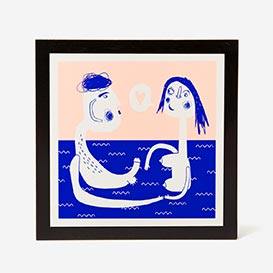 Underwater Love Screenprint>     </noscript> </div>          <div class=