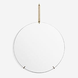 Wall Mirror Brass 70 cm Wandspiegel>     </noscript> </div>          <div class=