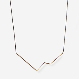 Necklace Angle Nr. 3 Black - Roségold>     </noscript> </div>          <div class=