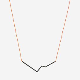 Necklace Angle No. 3 Neon Red - Black>     </noscript> </div>          <div class=