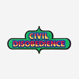 Bügel-Aufnäher Civil Disobedience>     </noscript> </div>          <div class=