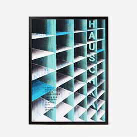 Hauschka Screenprint Gigposter>     </noscript> </div>          <div class=