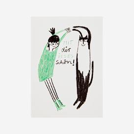 Mit dir isses schön Postcard>     </noscript> </div>          <div class=