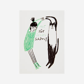 Mit dir isses schön Postkarte>     </noscript> </div>          <div class=
