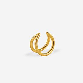 Lunar Ear Cuff - silver 925 gold-plated>     </noscript> </div>          <div class=