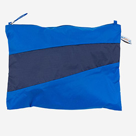 The New Pouch L Blue & Navy>     </noscript> </div>          <div class=