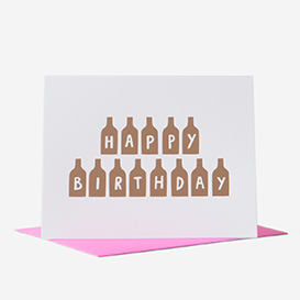 Happy Birthday Bottles Grußkarte>     </noscript> </div>          <div class=