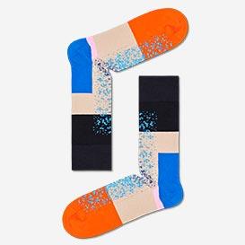 Dressed Im Blocked Socks - Blue>     </noscript> </div>          <div class=