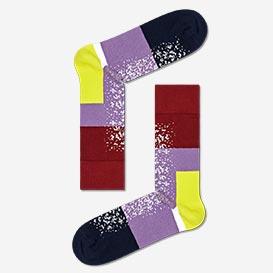 Dressed Im Blocked Socks - Purple>     </noscript> </div>          <div class=