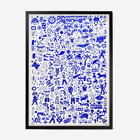 Blue Edition Screenprint >     </noscript> </div>          <div class=