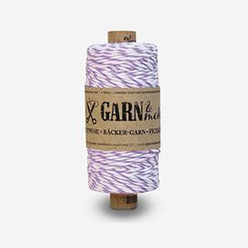 Bäcker-Garn Purple - White>     </noscript> </div>          <div class=