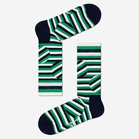 Jumbo Dot Stripe Socken - Green>     </noscript> </div>          <div class=