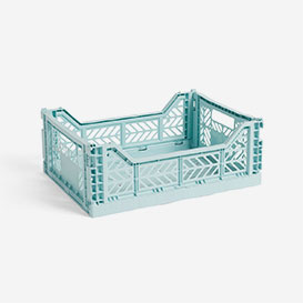 Colour Crate M Arctic Blue - Foldable Box>     </noscript> </div>          <div class=